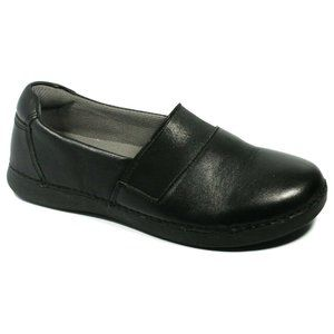 Alegria Womens Surreally Black Leather Shoes 36